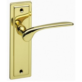 Como Polished Brass Latch