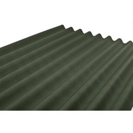 2000mm x 900mm x 2.8mm Corrugated Onduline Green