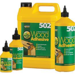 Everbuild 502 Wood Adhesive - 5L