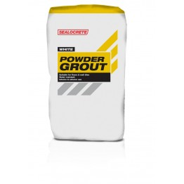 Sealocrete Powder Grout White - 2.5Kg