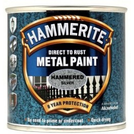 Hammerite Hammered Silver - 250ml