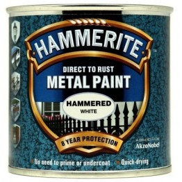 Hammerite Hammered White - 250ml