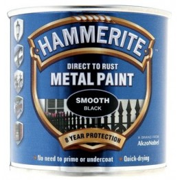 Hammerite Smooth Black - 250ml
