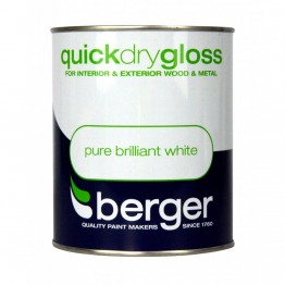 Berger Pure Brilliant White Quick Dry Gloss - 750ml