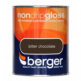 Berger Non Drip Gloss Bitter Chocolate - 750ml