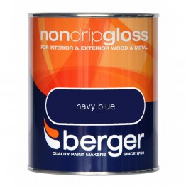 Berger Non Drip Gloss Navy Blue - 750ml