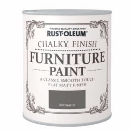 Anthracite Chalky Finish - 125ml