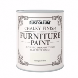 Antique White Chalky Finish - 125ml