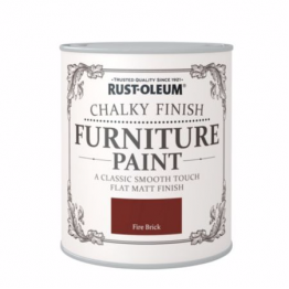 Fire Brick Chalky Finish - 125ml
