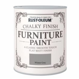 Winter Grey Chalky Finish