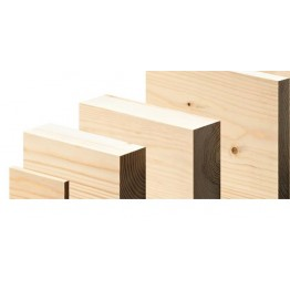 125mm x 50mm Planed Timber - Price Per 0.3M