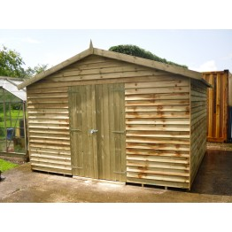 12' x 12' Heavy Duty Featheredge Apex