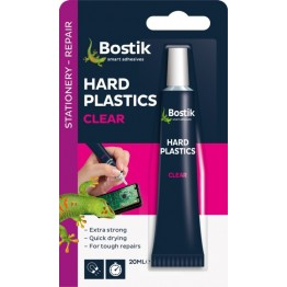 Bostik Hard Plastics Adhesive (Clear) - 20ml