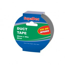 SupaDec Silver Duct Tape - 50M x 48mm